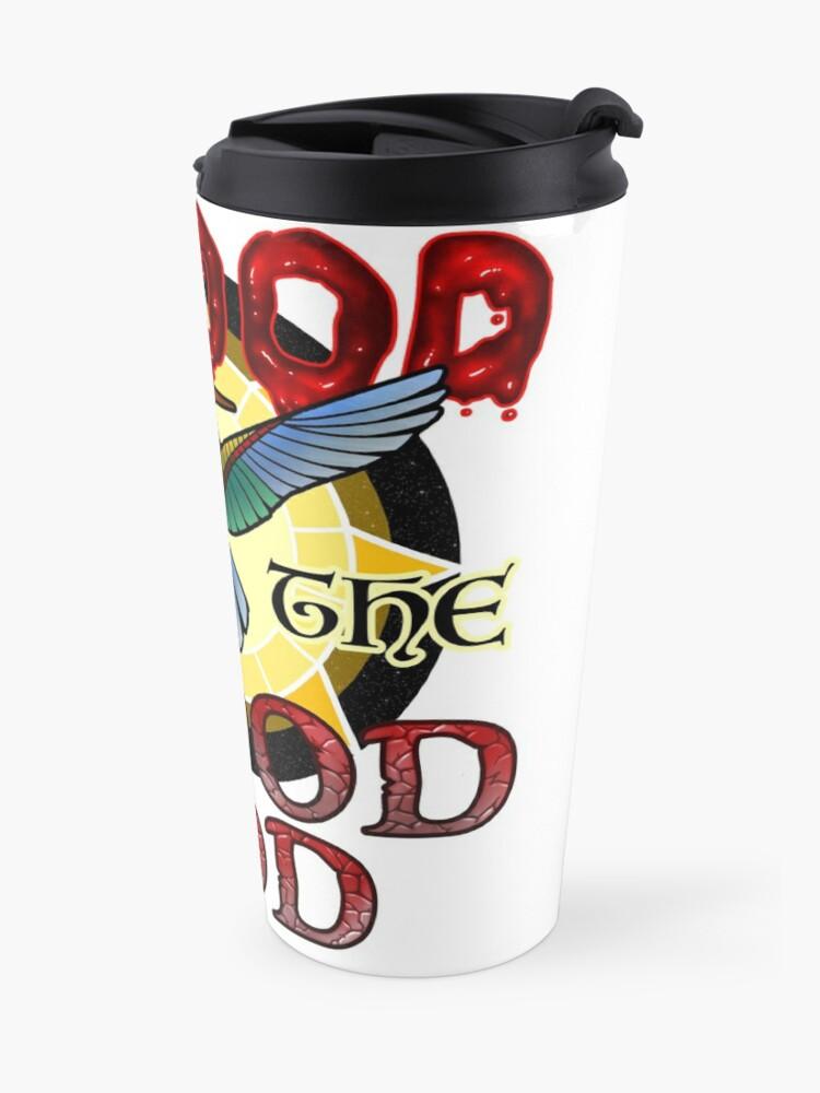 Alternate view of Blood for the Blood God Travel Mug