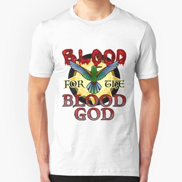 Blood for the Blood God Slim Fit T-Shirt