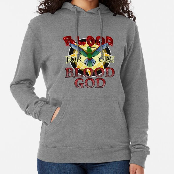 Blood for the Blood God Lightweight Hoodie