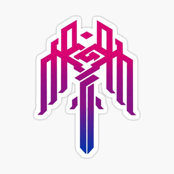 Kirkwall Pride Bisexual Sticker