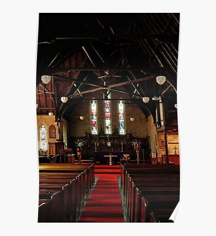 Holy Trinity nave Poster