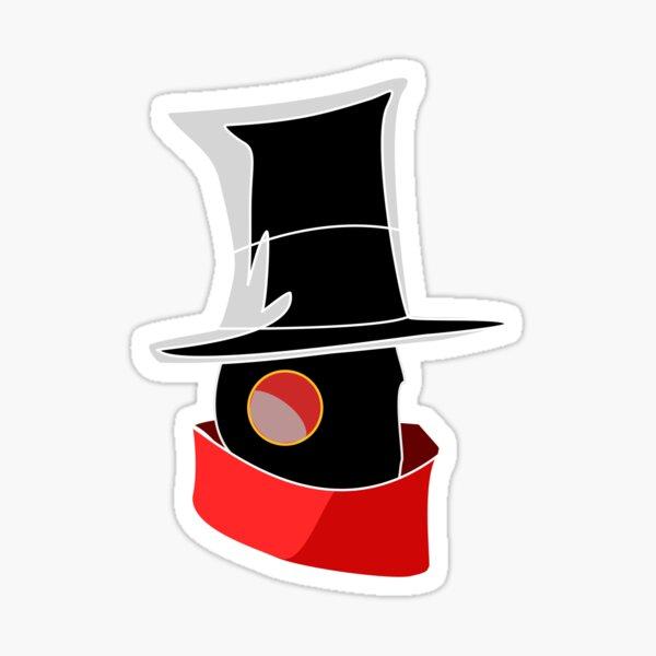 Mitch The Ripper Face Sticker