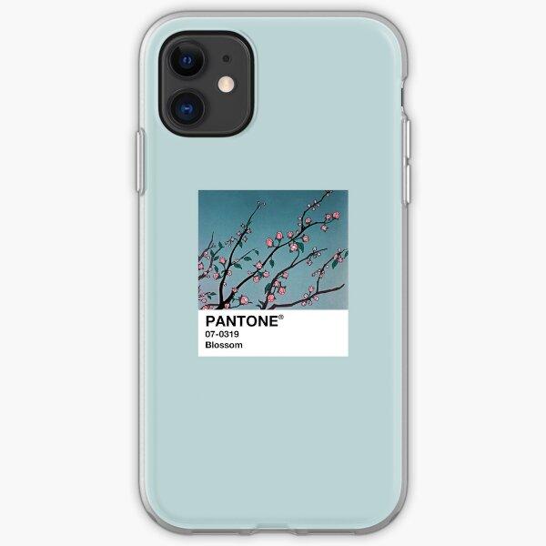 Blossom PANTONE 90s Anime estética Funda blanda para iPhone