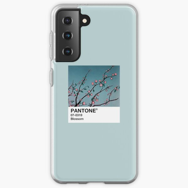 Blossom PANTONE 90s Anime aesthetic Samsung Galaxy Soft Case