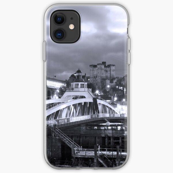 Swing Bridge Skyline, Newcastle upon Tyne iPhone Soft Case