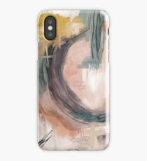 Abstract Nature Palette iPhone Case