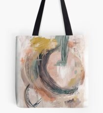 Abstract Nature Palette Tote Bag