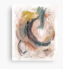 Abstract Nature Palette Canvas Print