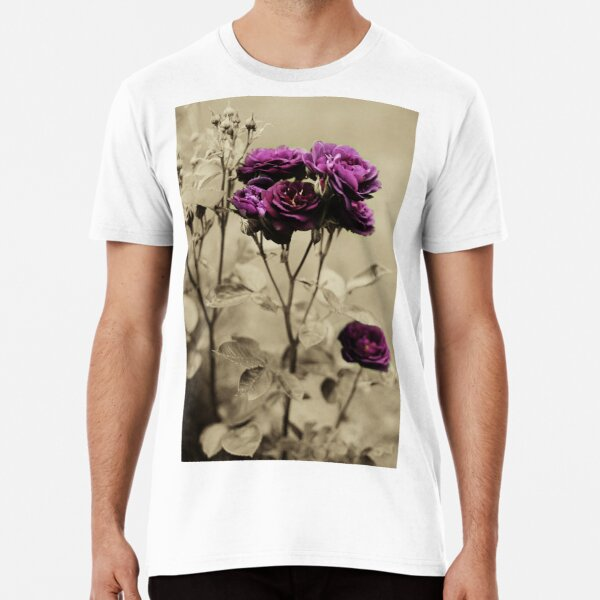 Ebb Tide Rose by Darren Harwood Premium T-Shirt