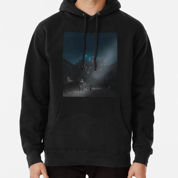 Lifestyle Graphix Distressed Winston Churchill Country Music Horse Saddle Hoodies for Men