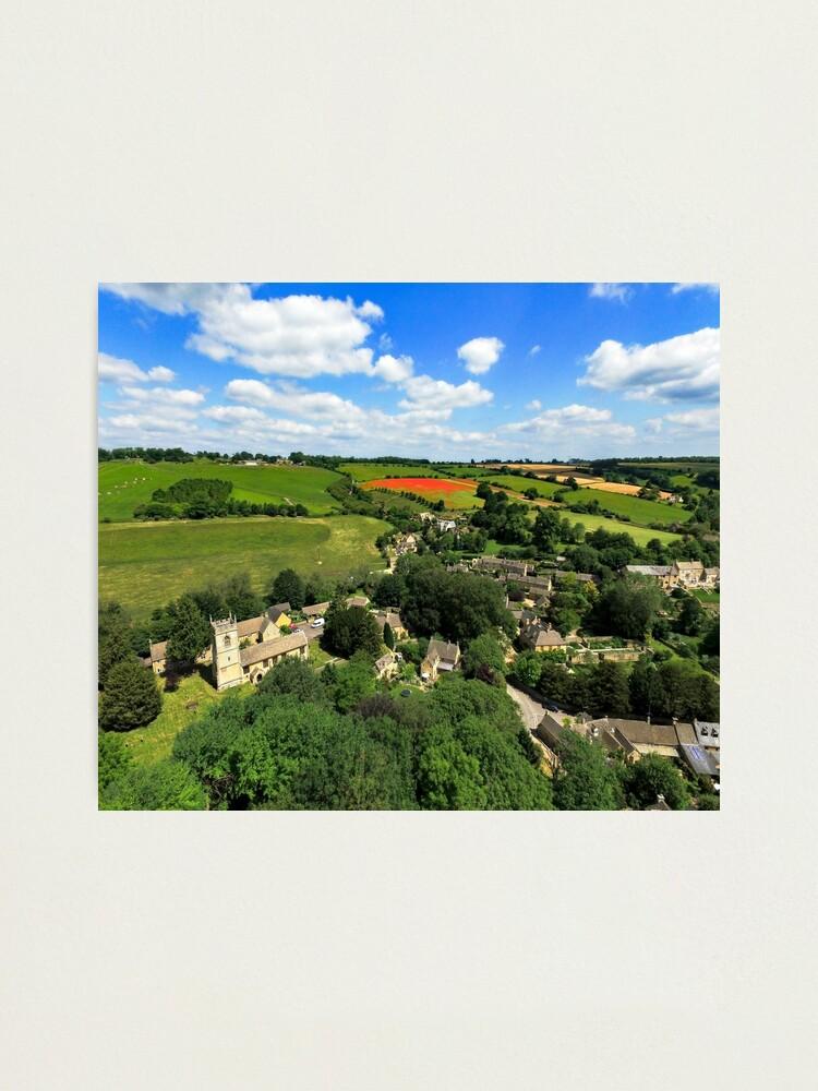 Alternate view of Naunton Landscape Photographic Print
