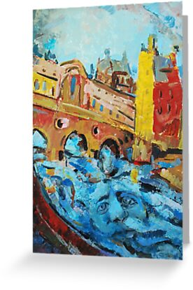 Pultney Bridge and the Spirit of Bath by RitaLazaro