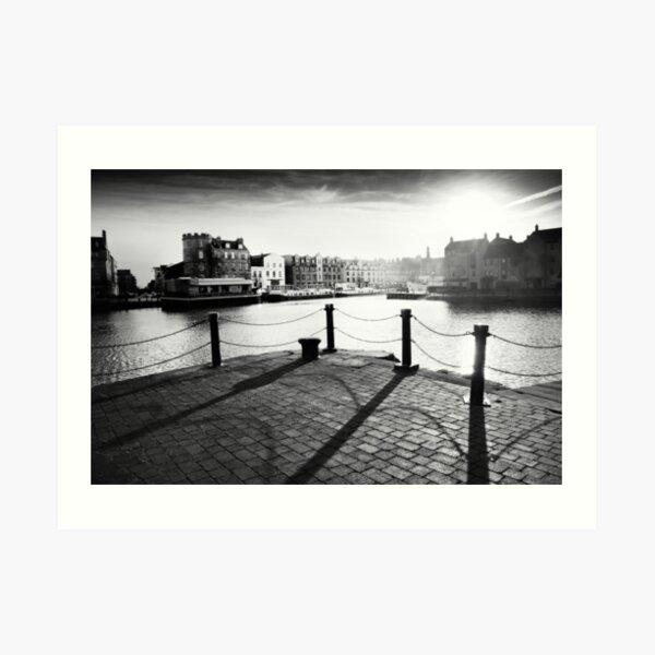 Leith Shore Art Print