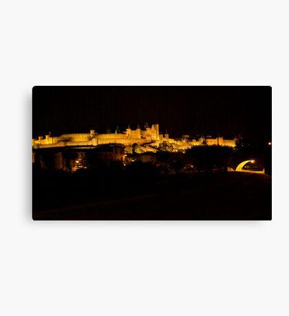 Carcassonne Castle Canvas Print