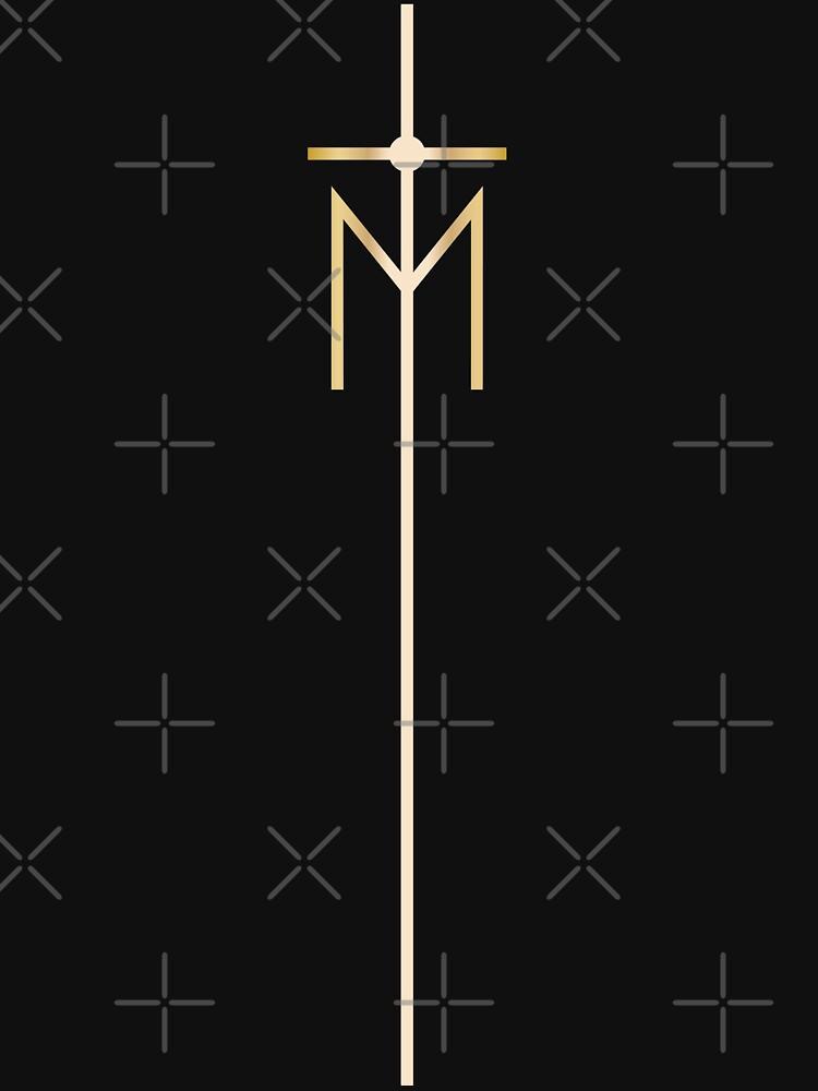 rebel heart - processional pole | Unisex T-Shirt
