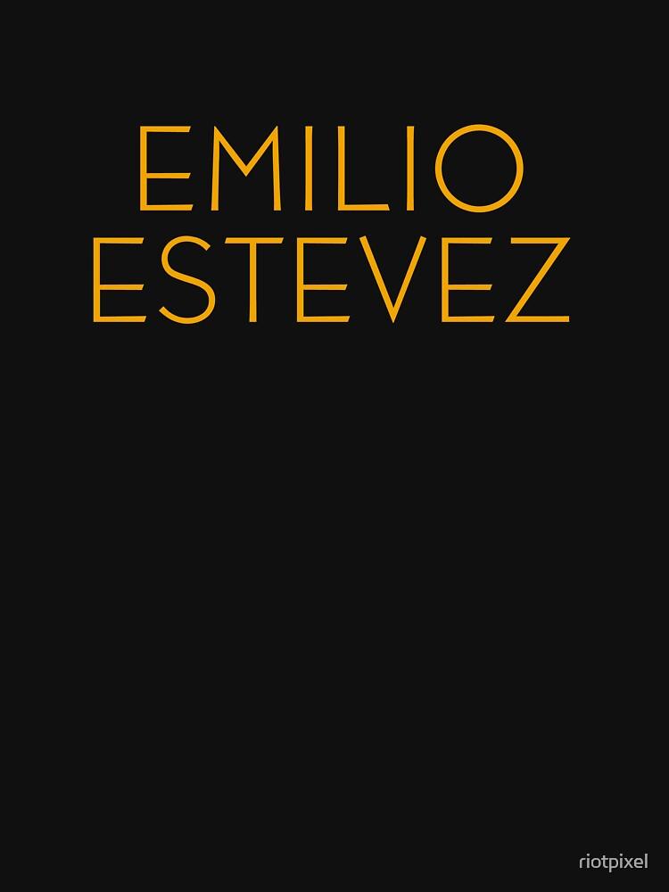 The Breakfast Club - Emilio Estevez by riotpixel