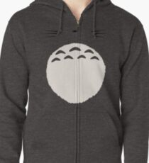 Friendly Neighborhood Totoro Zipped Hoodie