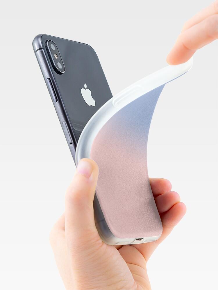Alternate view of ROSE QUARTZ & SERENITY iPhone Case & Cover