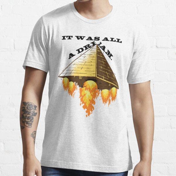 Ägypten Pyramide Ufo Humor. Essential T-Shirt