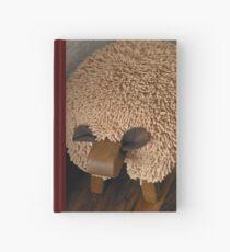Schaf-Fußschemel Notizbuch