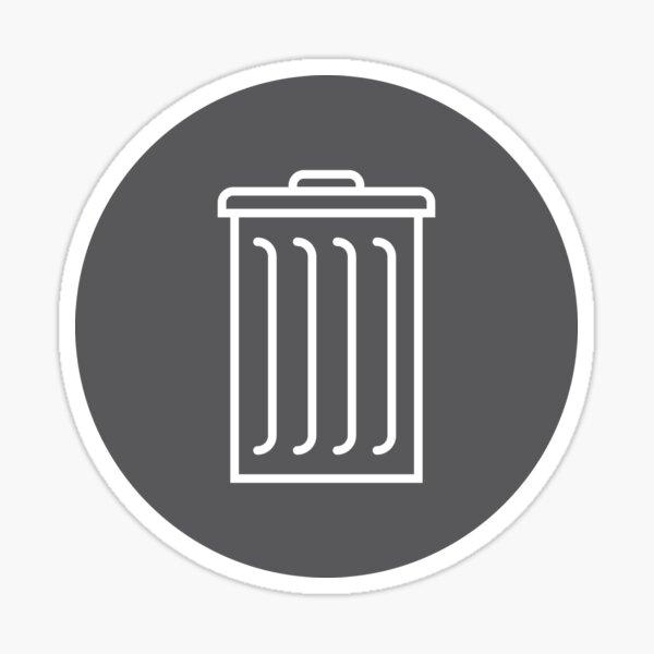 Garbage Label Sticker