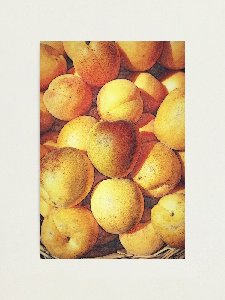 Alternate view of Peaches Photographic Print