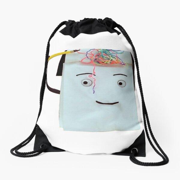 Don't Hug Me I'm Scared Notebook Drawstring Bag