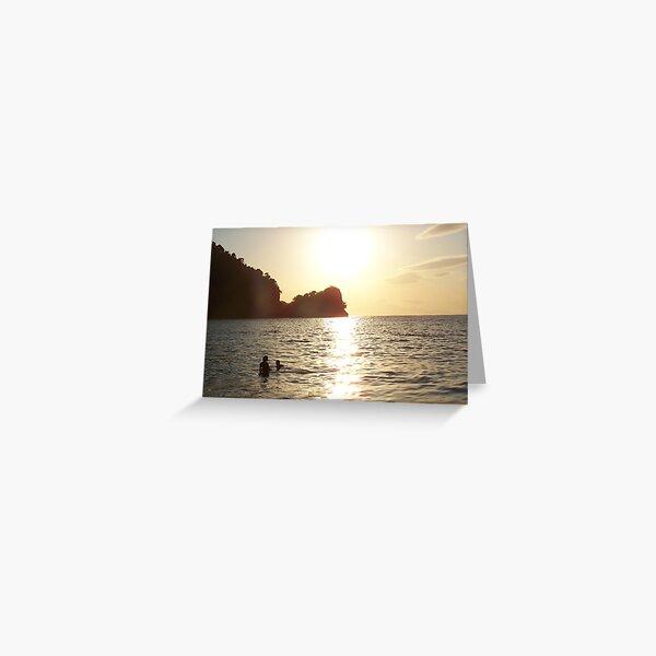 A Dip in Heaven Greeting Card
