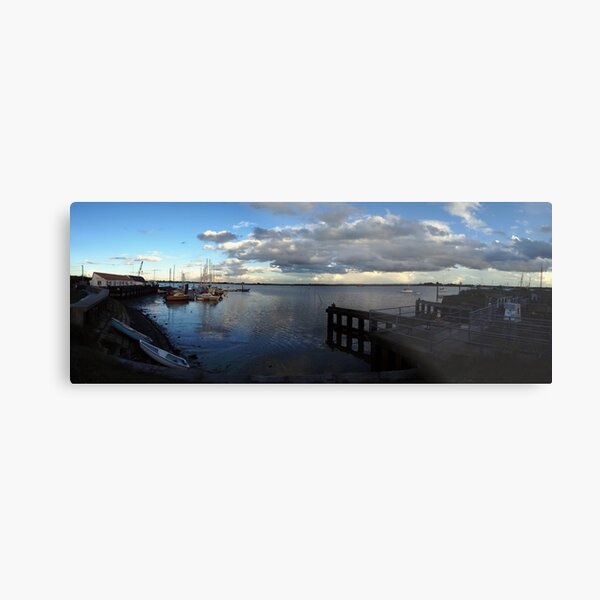 Storm Clouds Panorama Metal Print