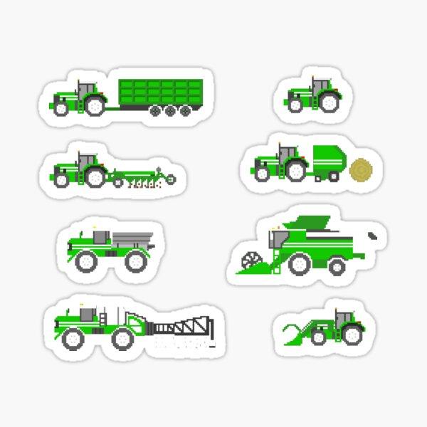 Farm Vehicles - Book Version - The Kids' Picture Show Sticker