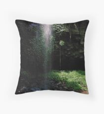 Crystal Shower Falls, Dorrigo NP Throw Pillow