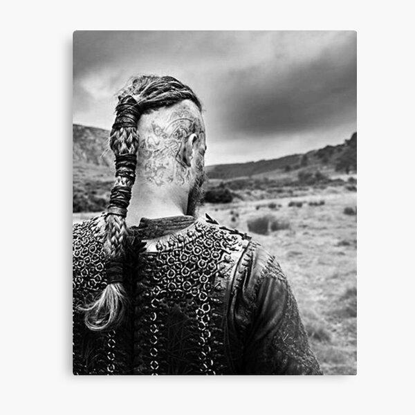 Ragnar Lothbrok Impression métallique