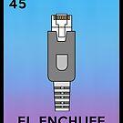 La Loteria El Enchufe Lustiger RJ45 von electrovista