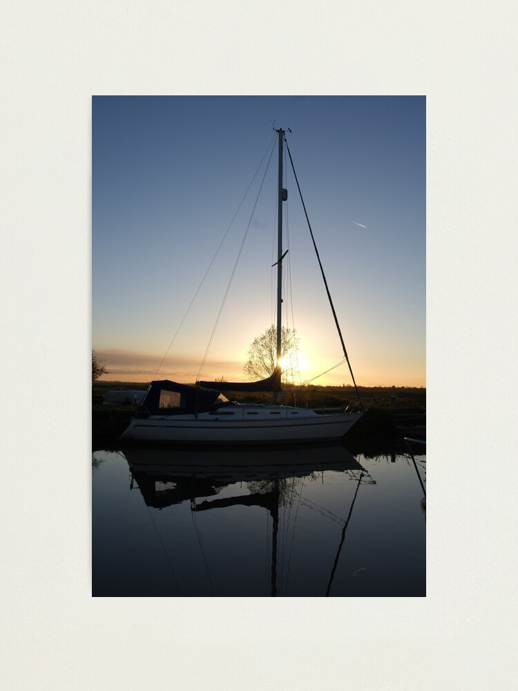 Alternate view of Heybridge Basin Yacht Photographic Print