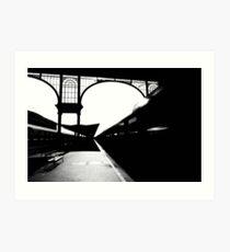 night train from nyugati Art Print