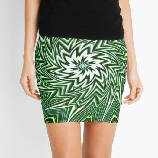 #Art, #pattern, #abstract, #decoration, design, creativity, color image, geometric shape Mini Skirt