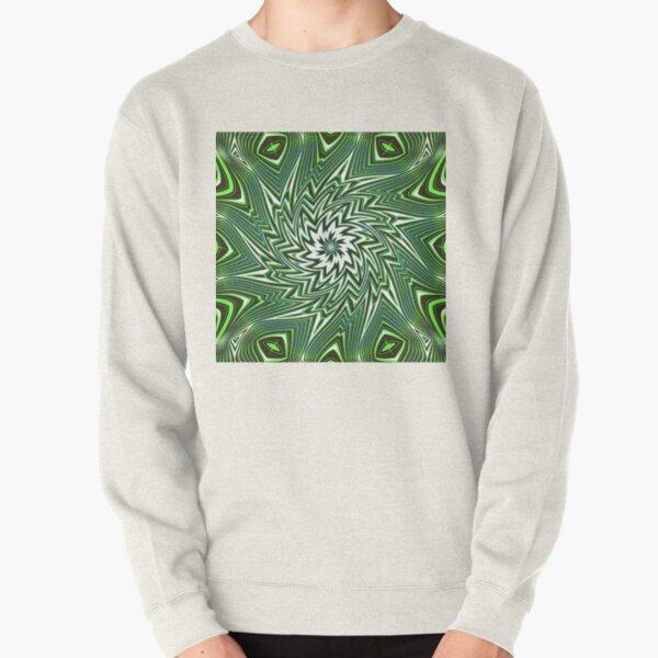 #Art, #pattern, #abstract, #decoration, design, creativity, color image, geometric shape Pullover Sweatshirt