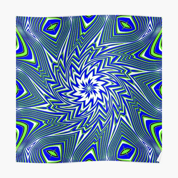 #Art, #pattern, #abstract, #decoration, design, creativity, color image, geometric shape Poster