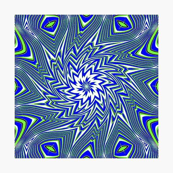 #Art, #pattern, #abstract, #decoration, design, creativity, color image, geometric shape Photographic Print