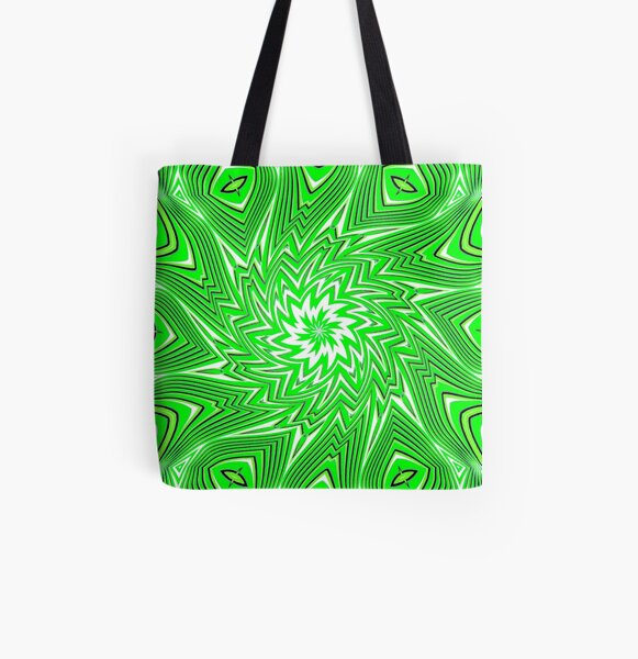 #Art, #pattern, #abstract, #decoration, design, creativity, color image, geometric shape All Over Print Tote Bag