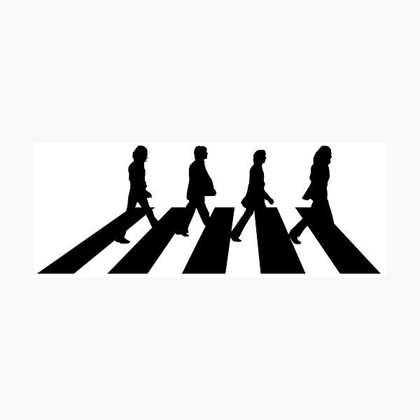 Minimalistic Abbey Road Photographic Print
