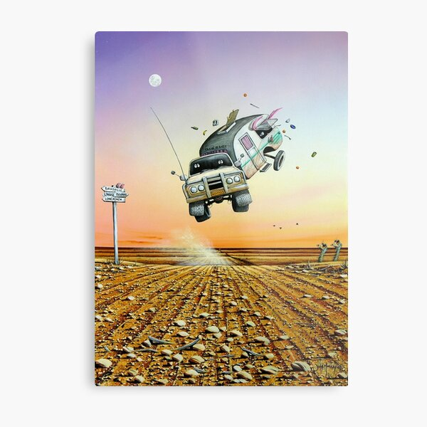 Are We There Yet! Metal Print