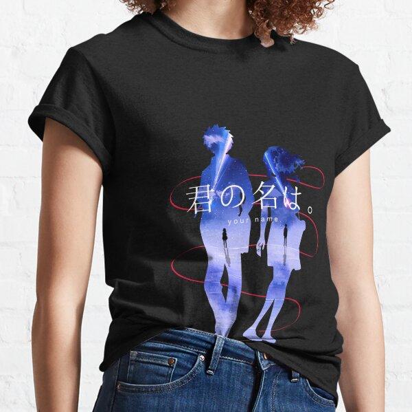 Kimi no Na wa Your Name Anime Mitsuha & Taki Comet Classic T-Shirt