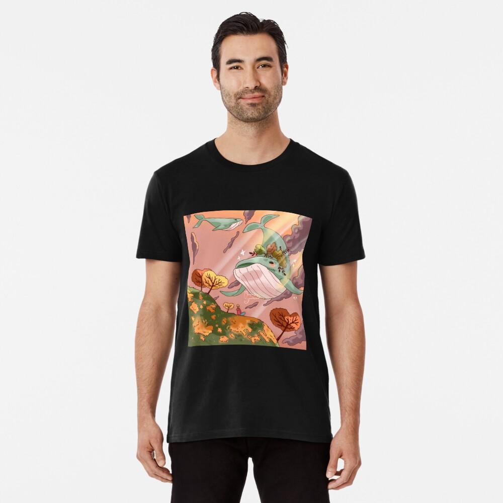 Giant Whales Premium T-Shirt