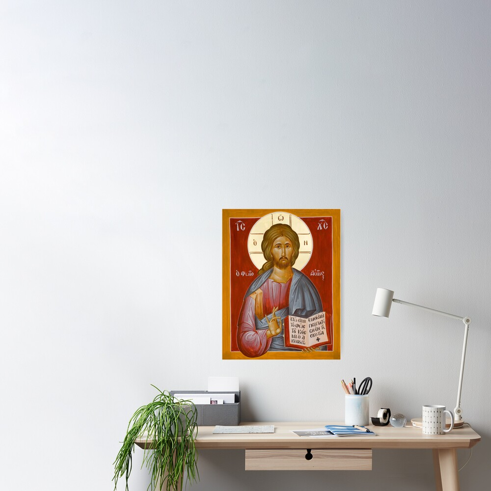 Christ the Lightgiver Poster