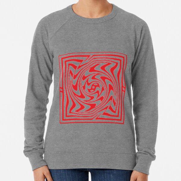 3d Depth Wallpaper Image Lightweight Sweatshirt