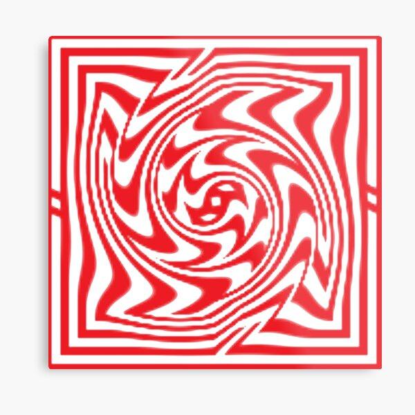 3d Depth Wallpaper Image Metal Print