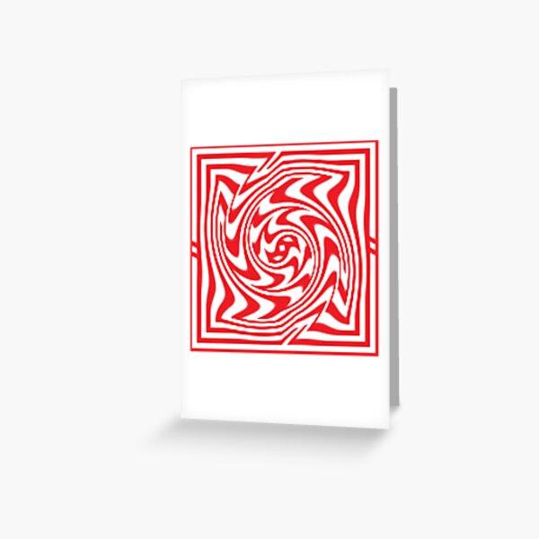 3d Depth Wallpaper Image Greeting Card
