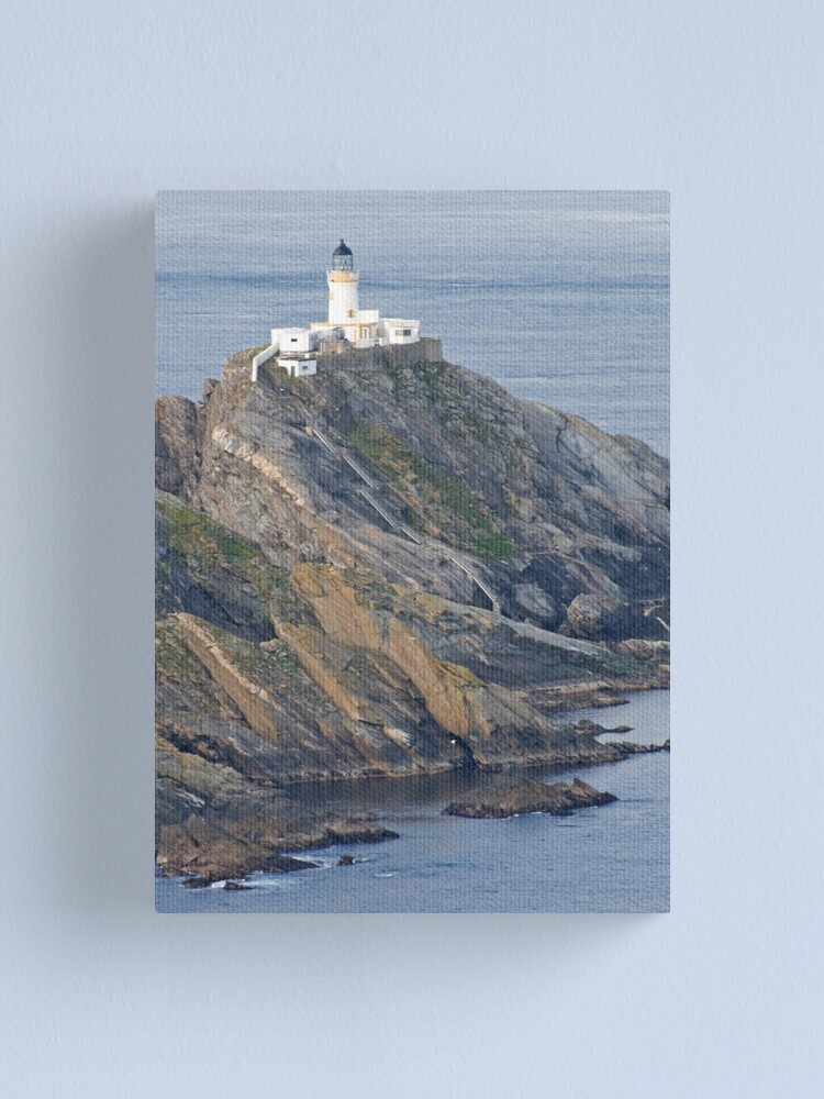 Alternate view of Muckle Flugga lighthouse Canvas Print