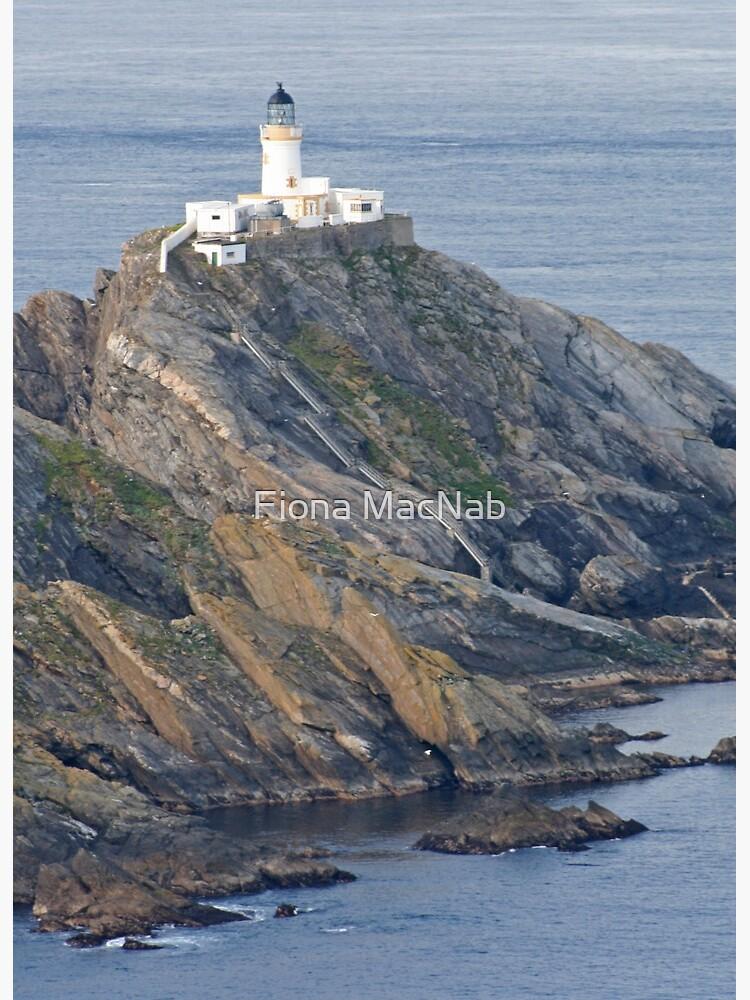 Muckle Flugga lighthouse by orcadia